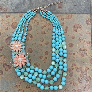 Gorgeous Strung Bead Necklace